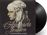 AMANDA JENSSEN Happyland Vinyl Record LP Epic 2009